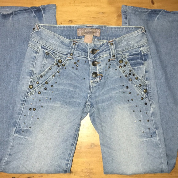 Candie's Denim - Candie's jeans distressed size 3 Flare